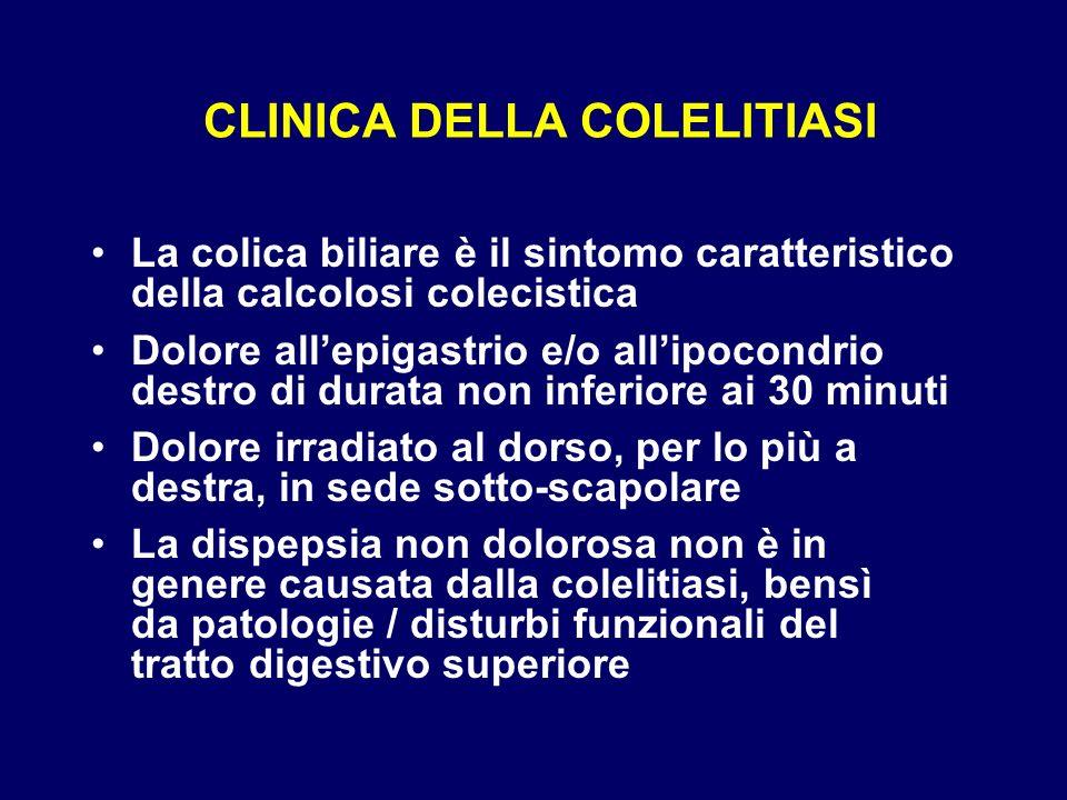 CLINICA DELLA COLELITIASI