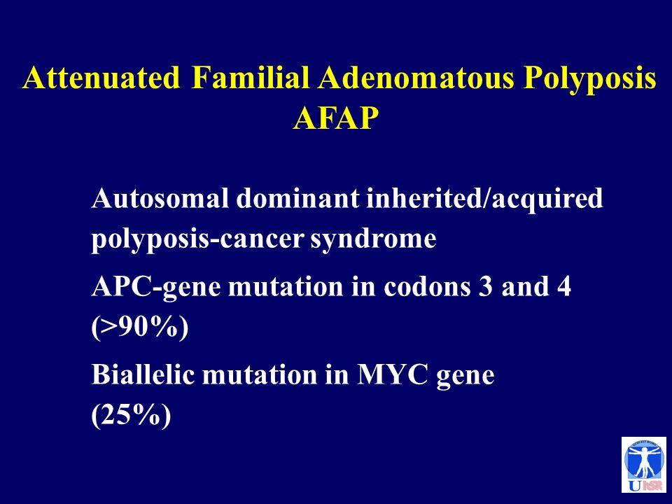 Attenuated Familial Adenomatous Polyposis AFAP