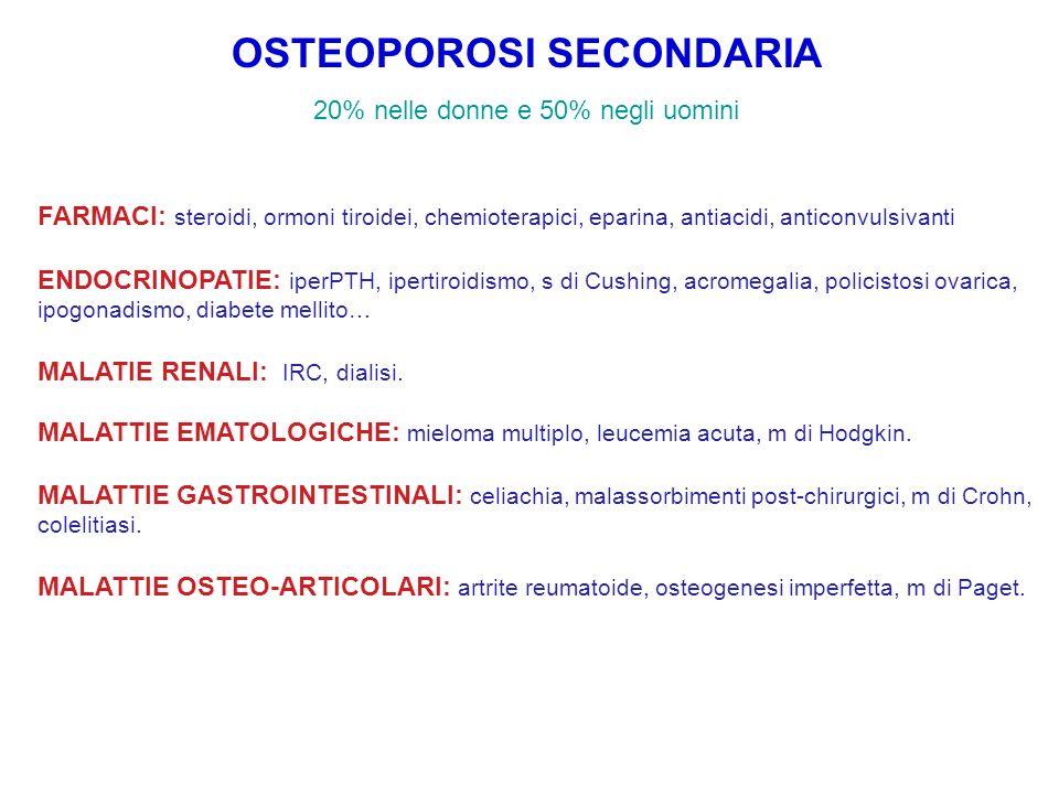 OSTEOPOROSI SECONDARIA
