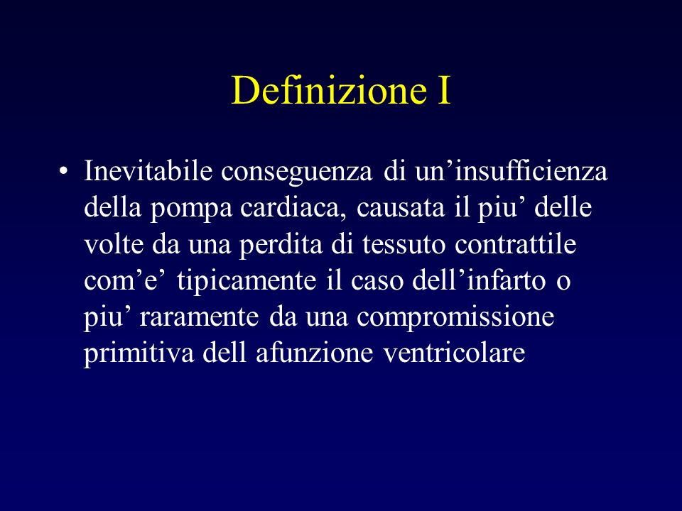 Definizione I