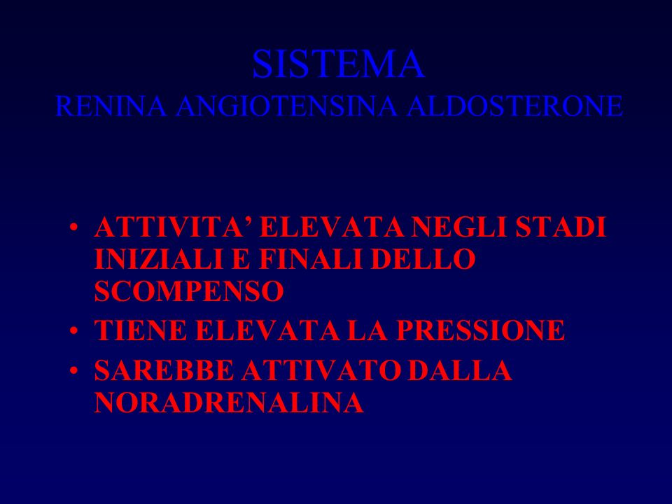 SISTEMA RENINA ANGIOTENSINA ALDOSTERONE