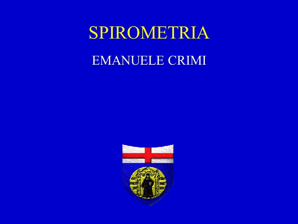 SPIROMETRIA EMANUELE CRIMI