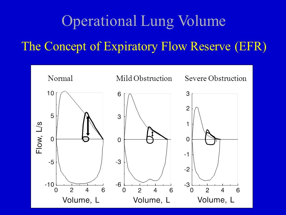 Operational Lung Volume
