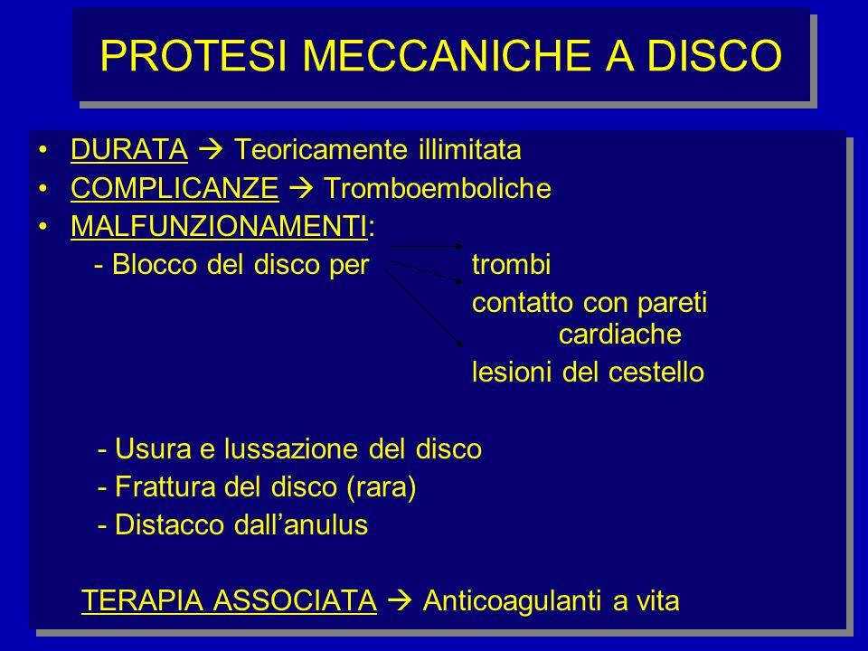 PROTESI MECCANICHE A DISCO