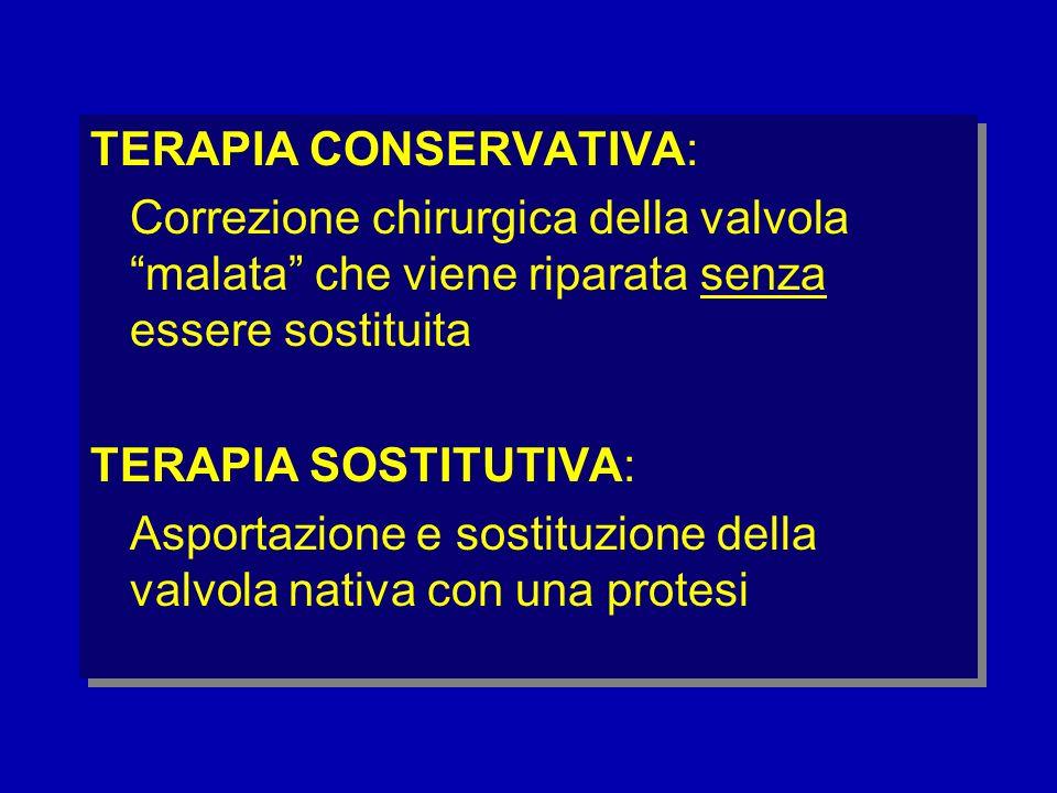 TERAPIA CONSERVATIVA: