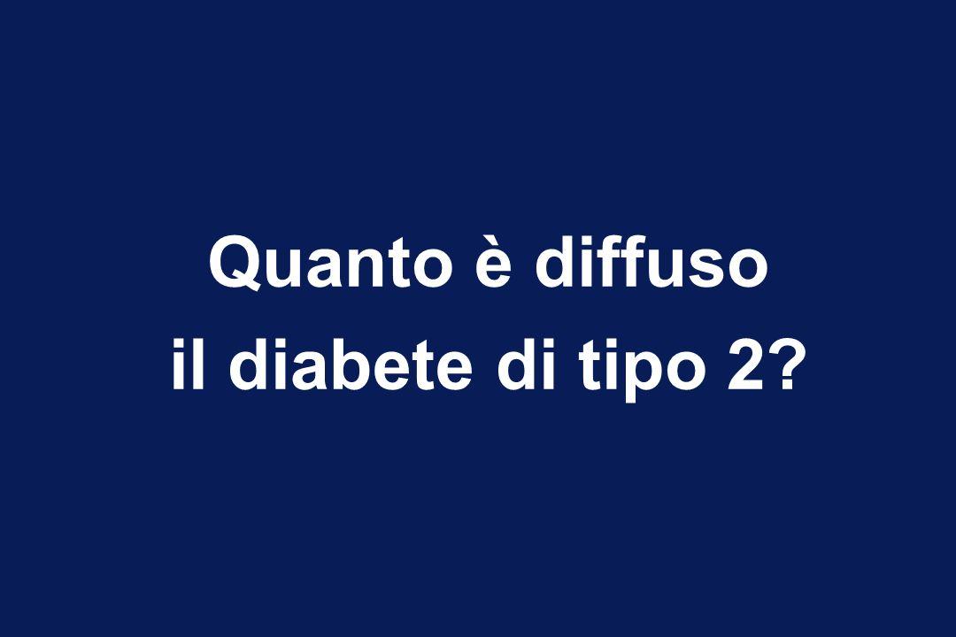 Quanto è diffuso il diabete di tipo 2