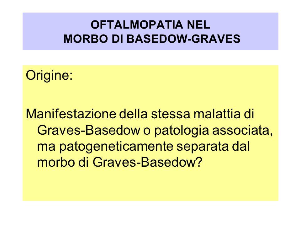 OFTALMOPATIA NEL MORBO DI BASEDOW-GRAVES