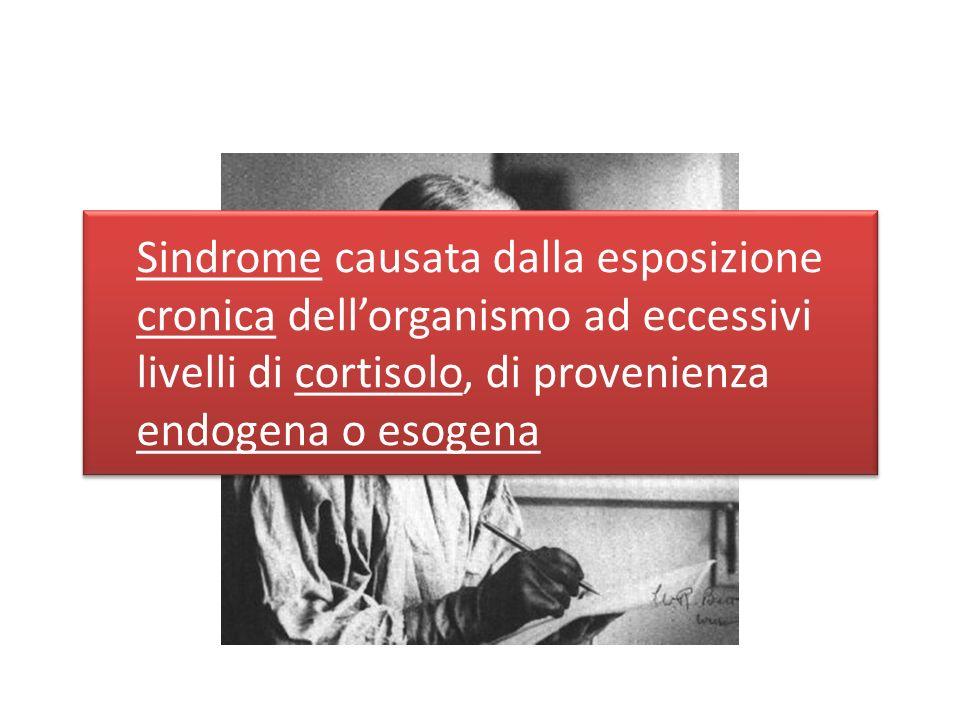 Sindrome causata dalla esposizione cronica dell'organismo ad eccessivi livelli di cortisolo, di provenienza endogena o esogena