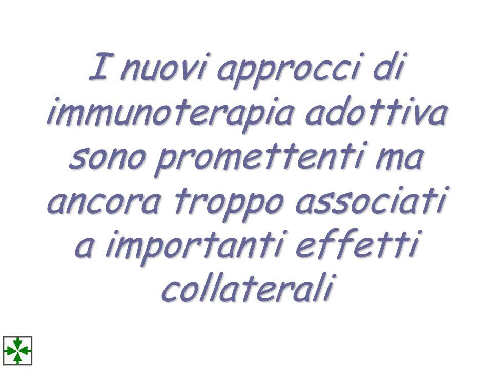 I nuovi approcci di immunoterapia adottiva sono promettenti ma ancora troppo associati a importanti effetti collaterali