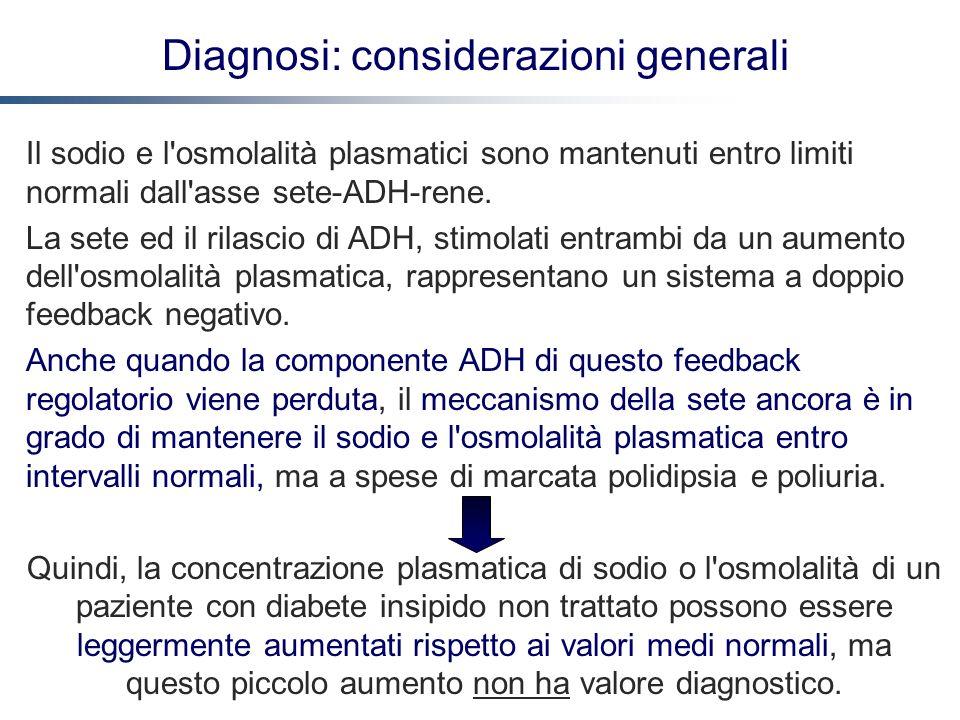 Diagnosi: considerazioni generali