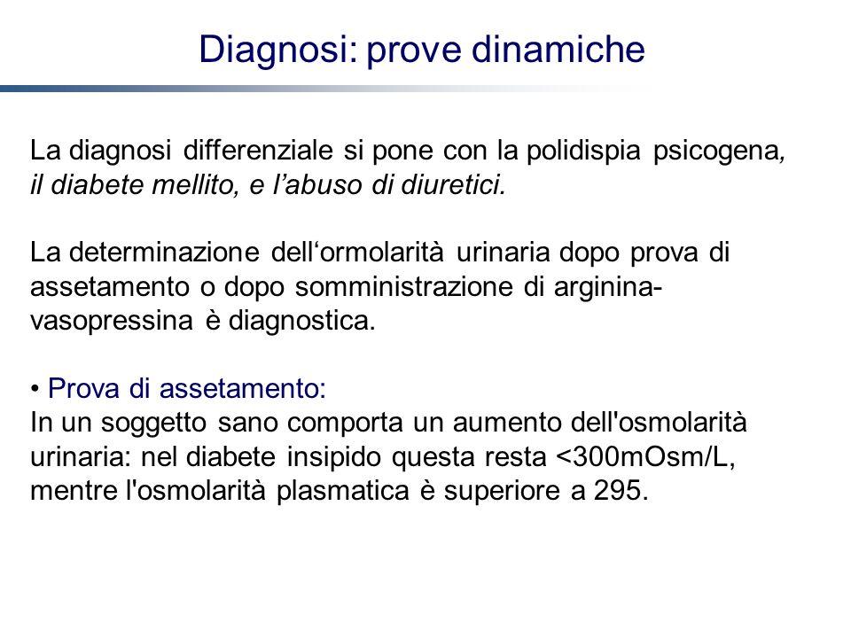Diagnosi: prove dinamiche