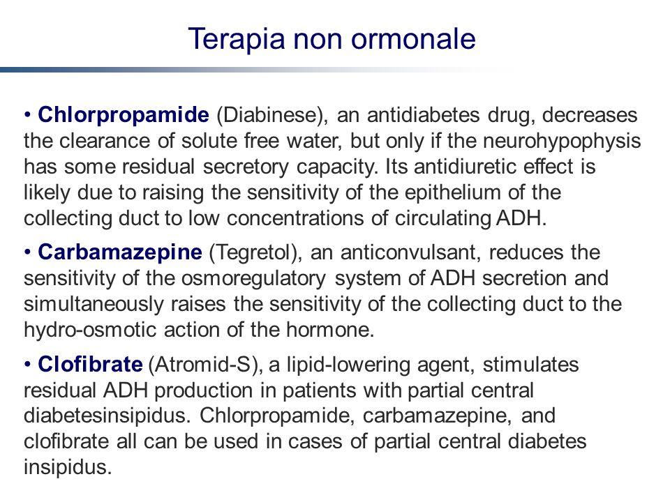 Terapia non ormonale