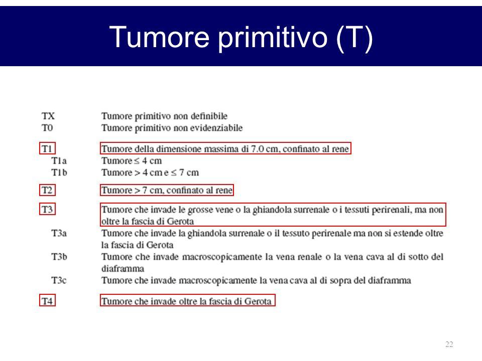 Tumore primitivo (T)