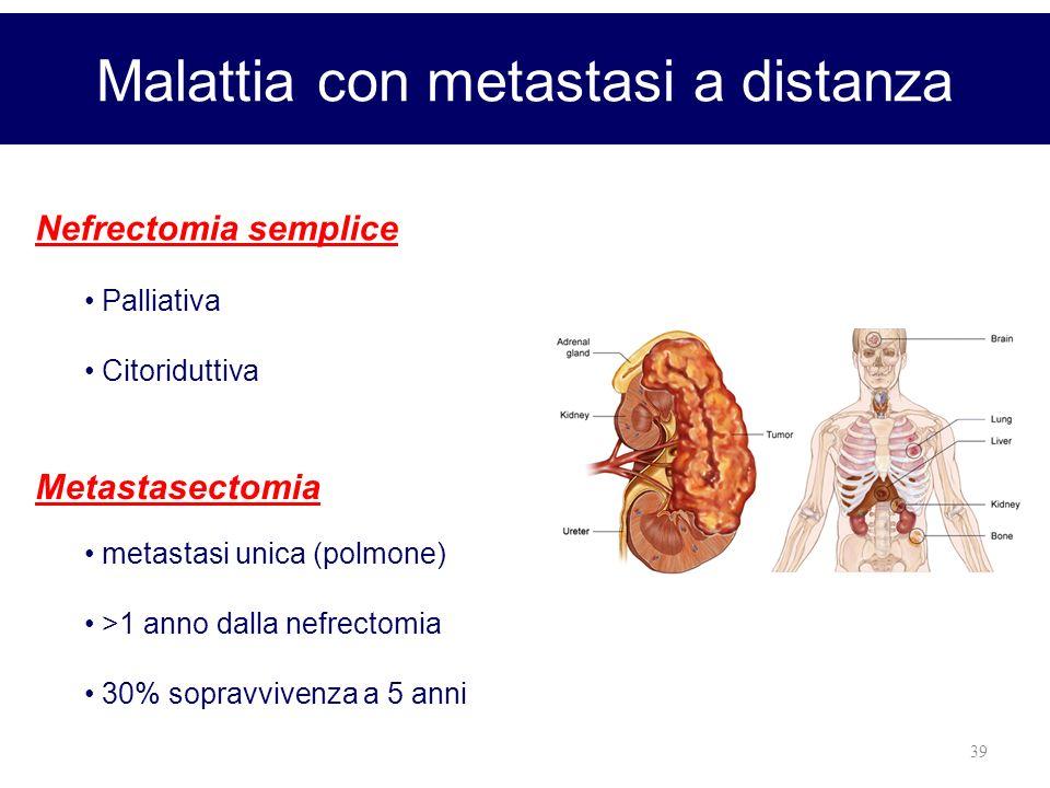 Malattia con metastasi a distanza