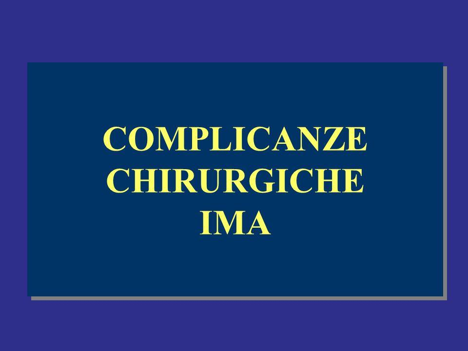 COMPLICANZE CHIRURGICHE IMA
