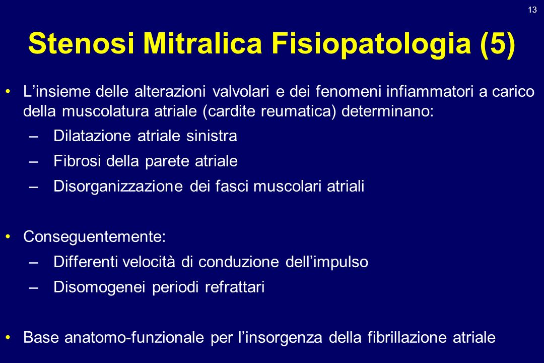 Stenosi Mitralica Fisiopatologia (5)