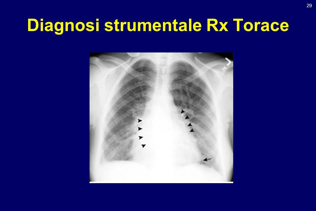 Diagnosi strumentale Rx Torace