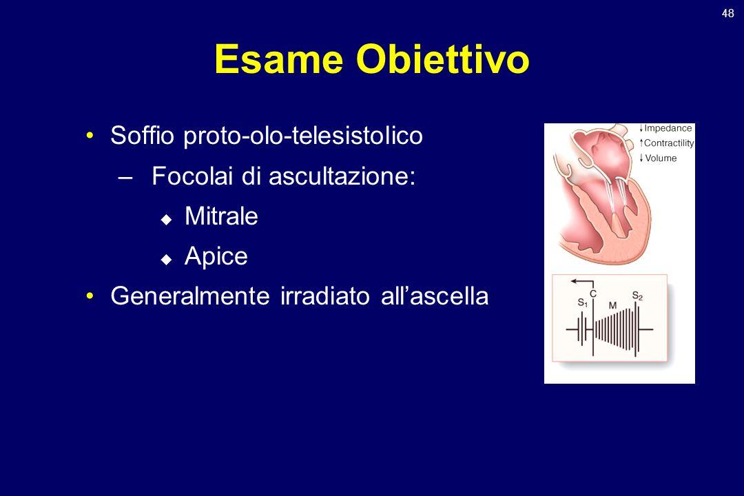 Esame Obiettivo Soffio proto-olo-telesistolico