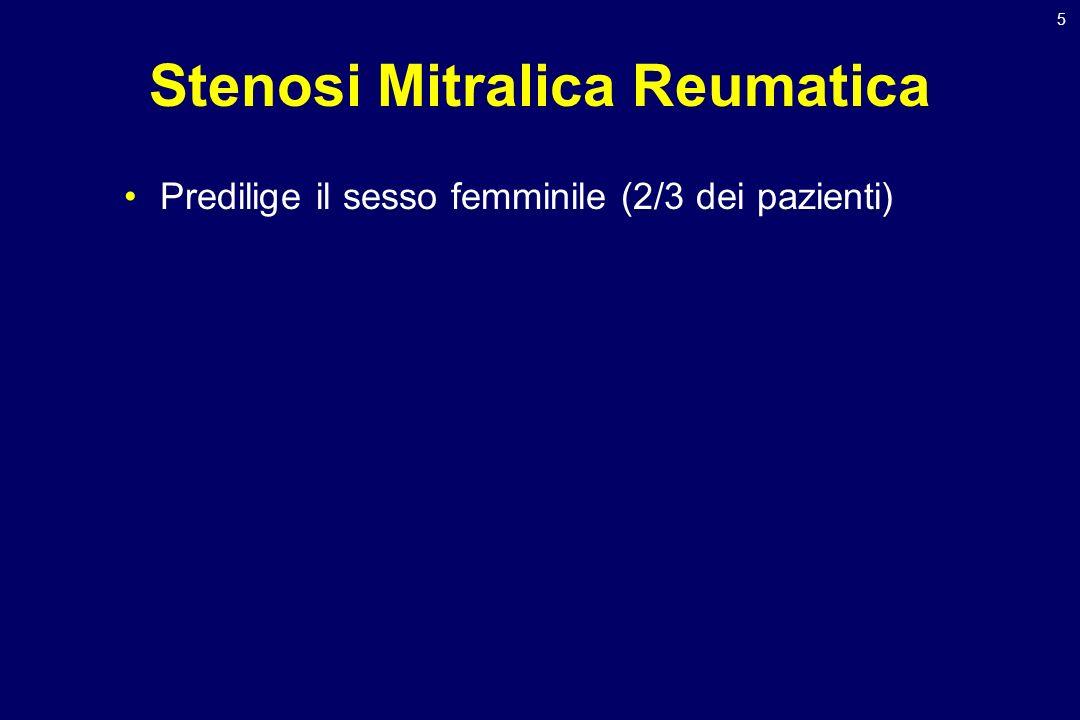 Stenosi Mitralica Reumatica
