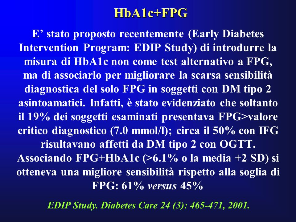 HbA1c+FPG