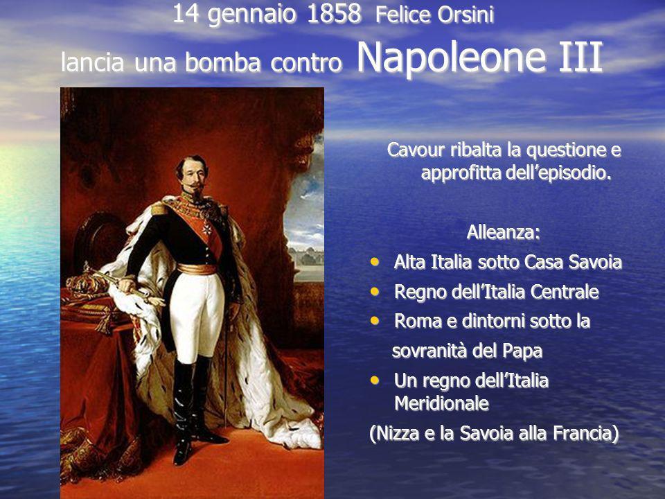 14 gennaio 1858 Felice Orsini lancia una bomba contro Napoleone III