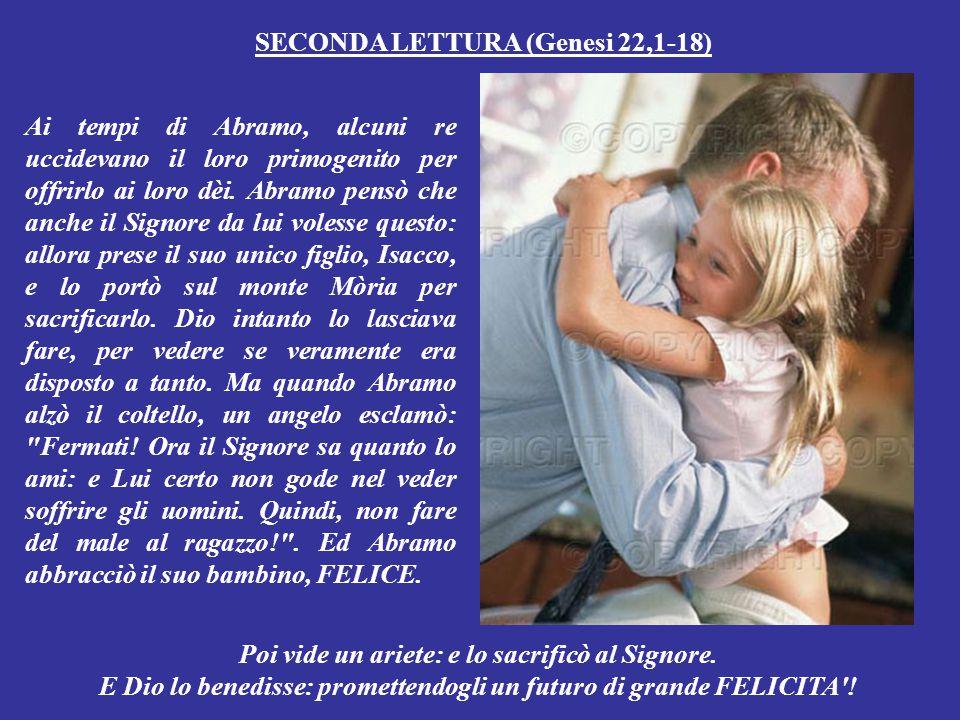 SECONDA LETTURA (Genesi 22,1-18)