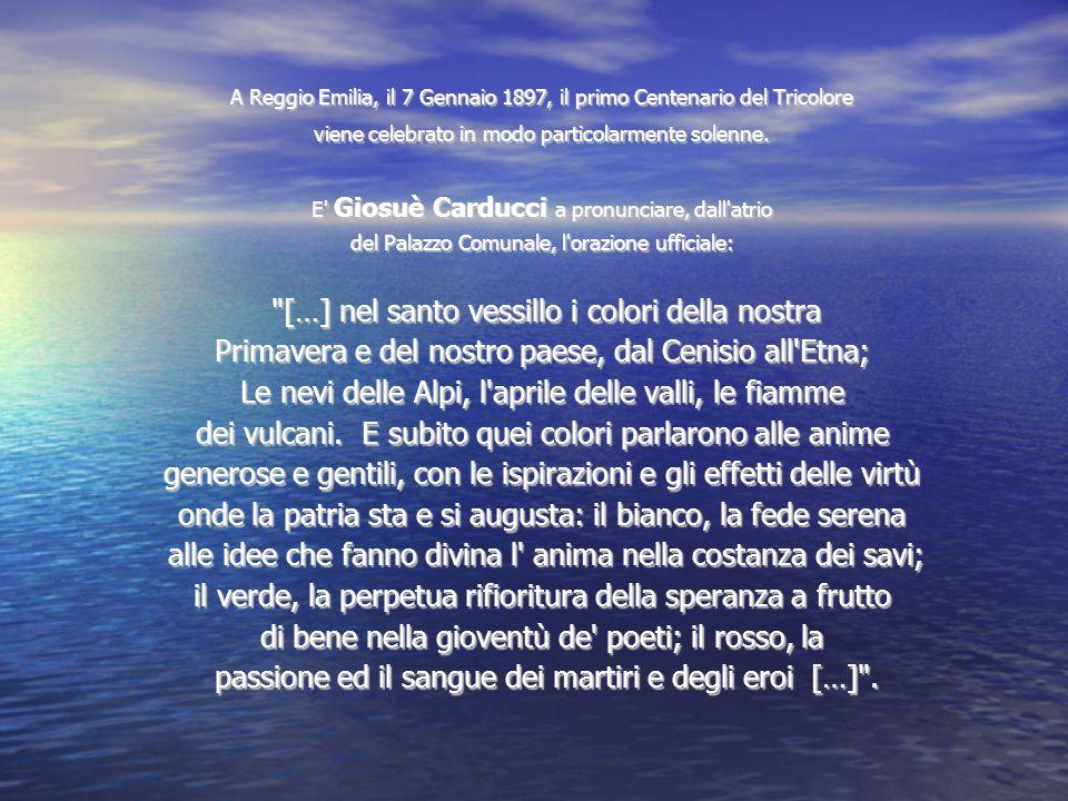 Primavera e del nostro paese, dal Cenisio all Etna;