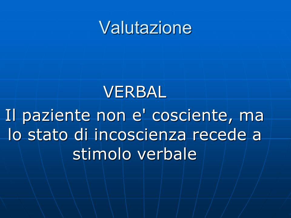 Valutazione VERBAL.