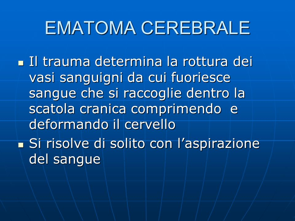 EMATOMA CEREBRALE