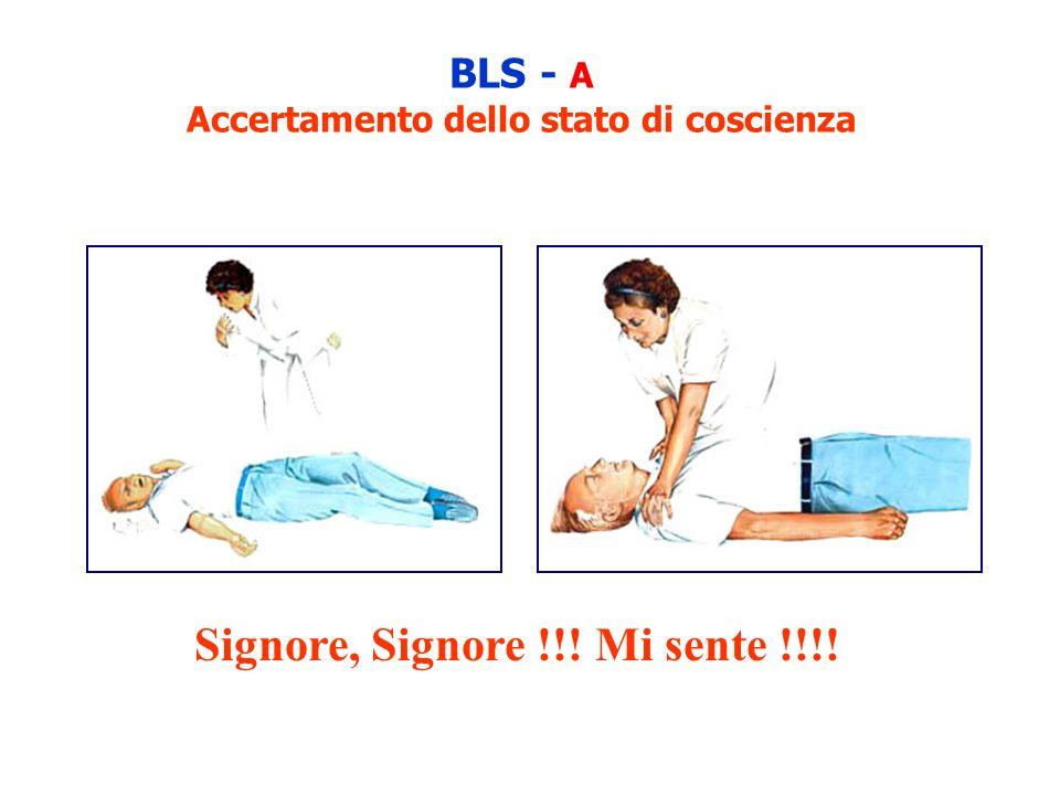 BLS - A Accertamento dello stato di coscienza