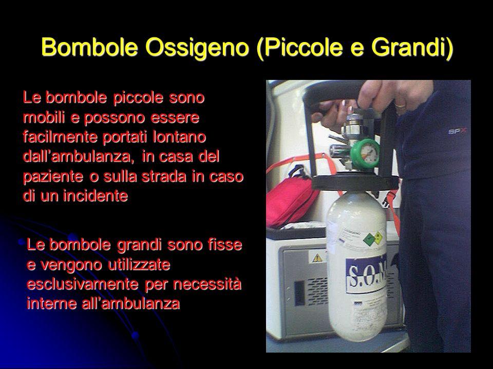 Bombole Ossigeno (Piccole e Grandi)