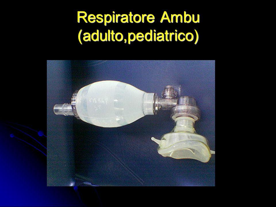 Respiratore Ambu (adulto,pediatrico)