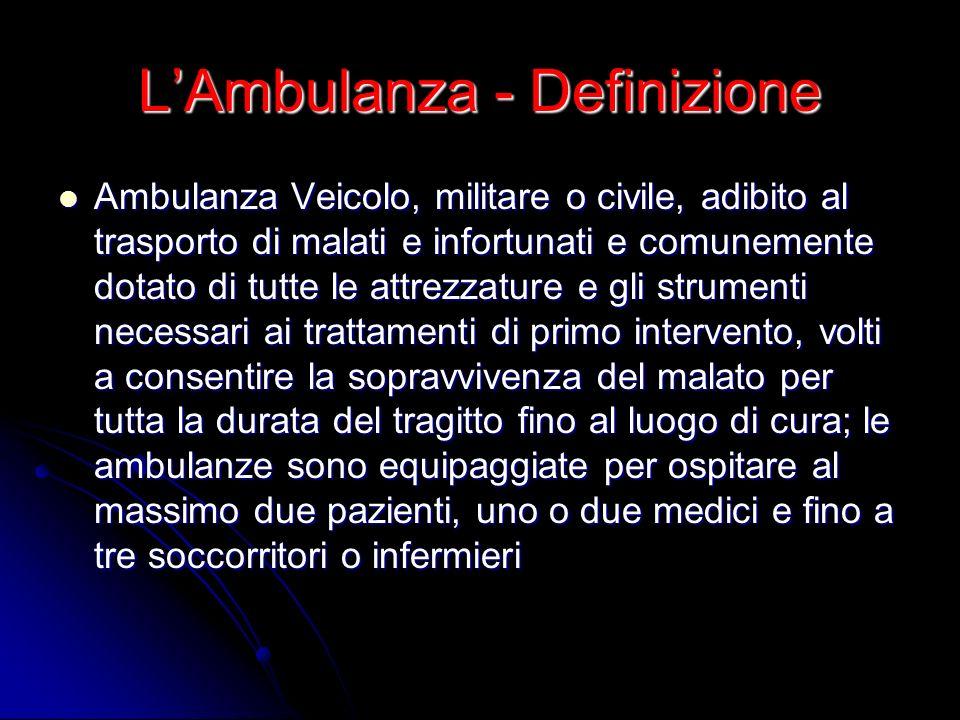 L'Ambulanza - Definizione