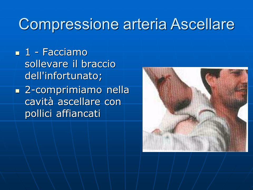 Compressione arteria Ascellare