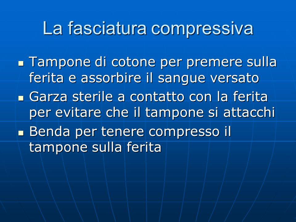 La fasciatura compressiva