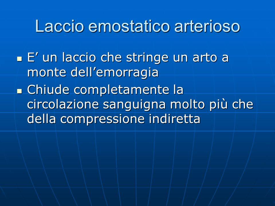 Laccio emostatico arterioso