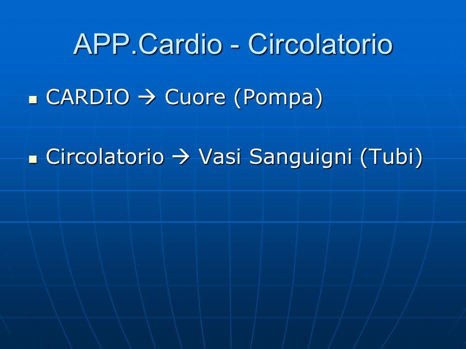 APP.Cardio - Circolatorio