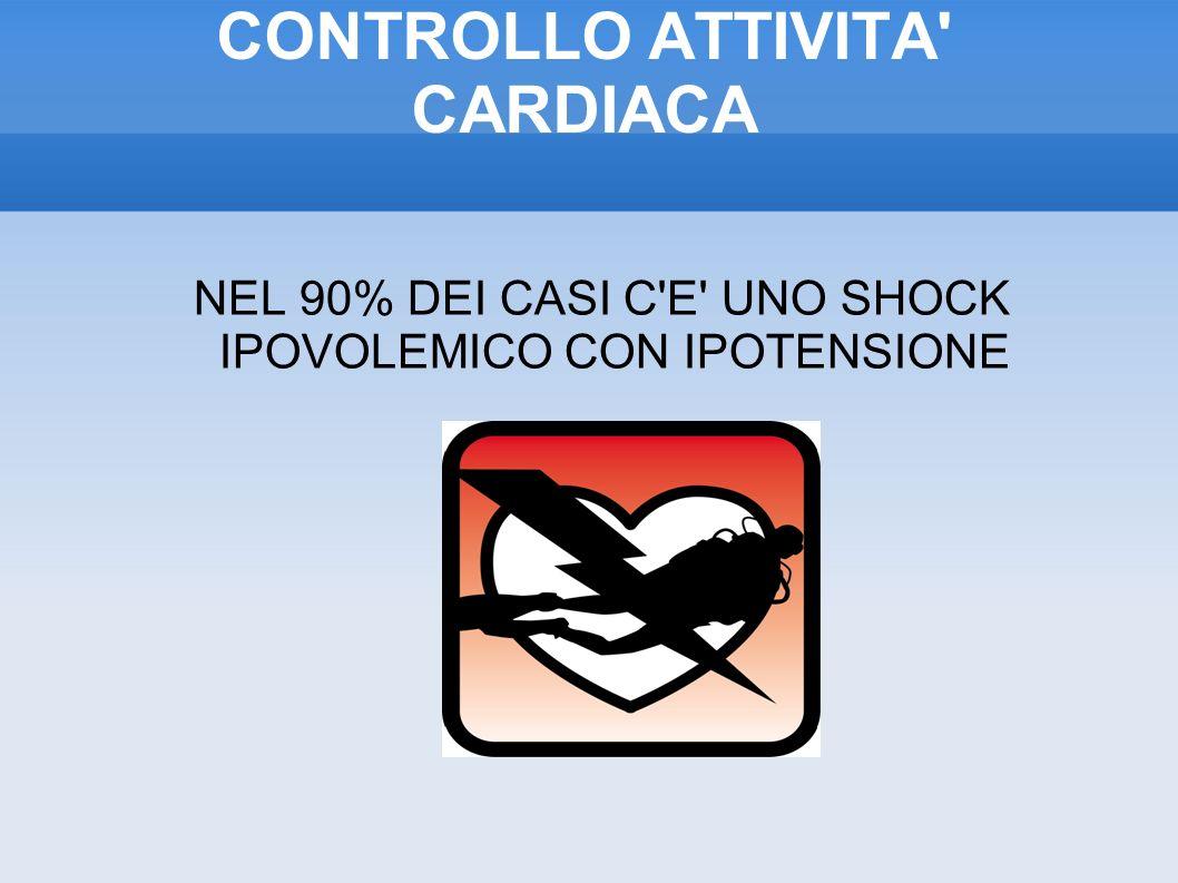 CONTROLLO ATTIVITA CARDIACA