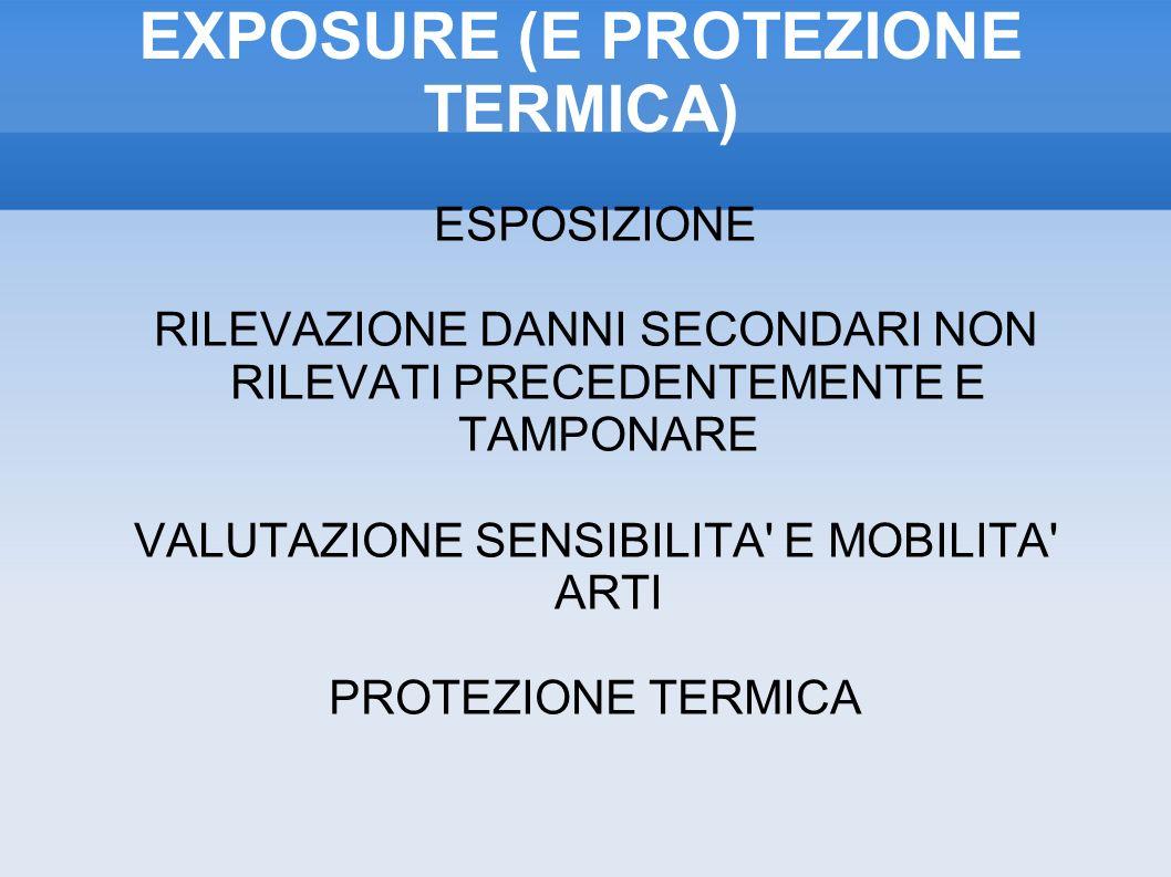 EXPOSURE (E PROTEZIONE TERMICA)