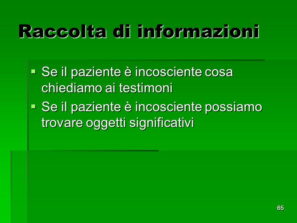 Raccolta di informazioni