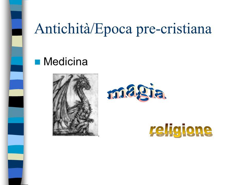 Antichità/Epoca pre-cristiana