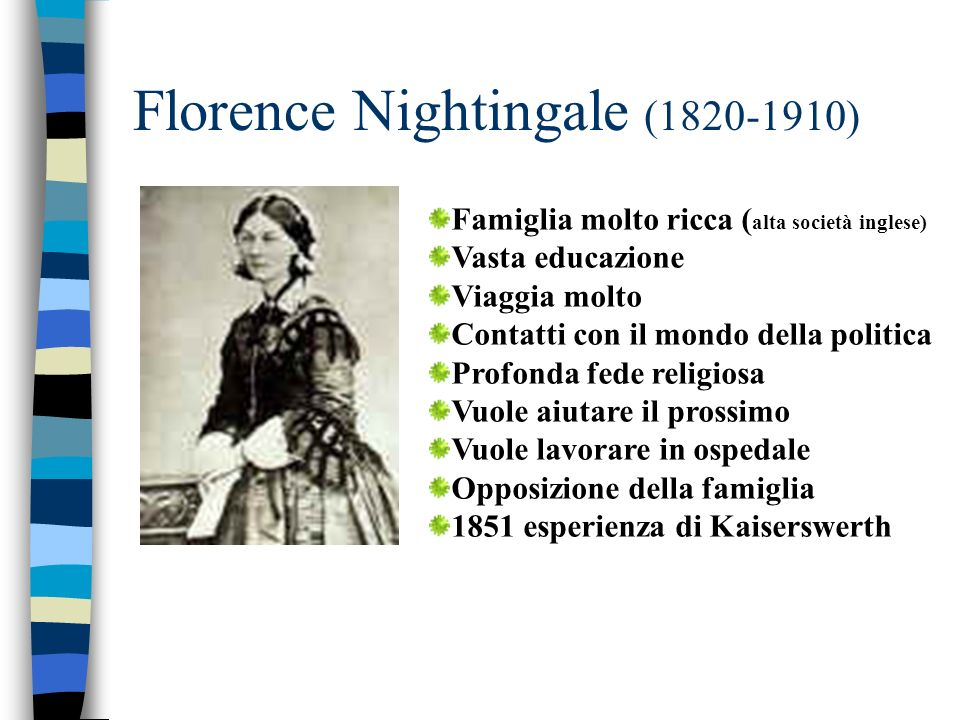 Florence Nightingale ( )