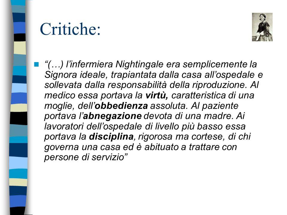 Critiche: