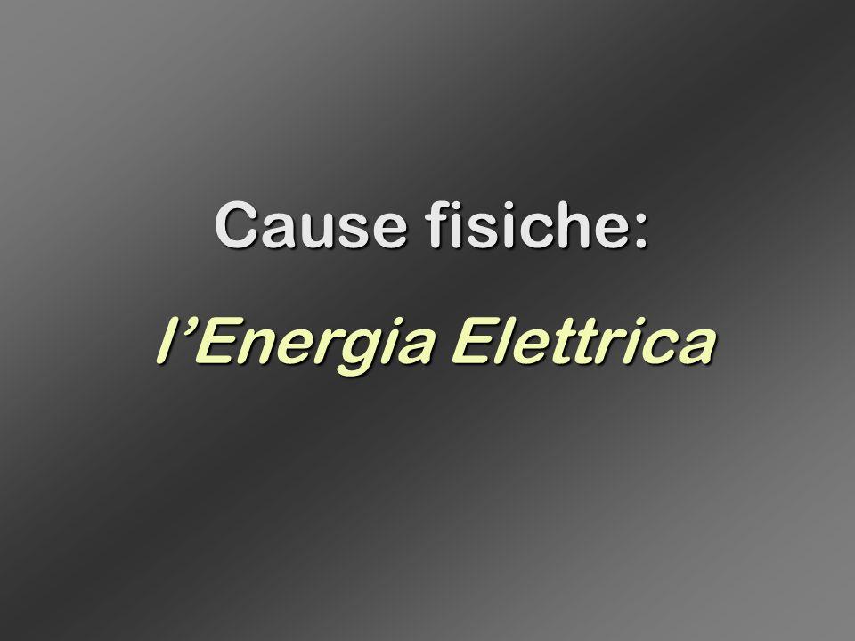 Cause fisiche: l'Energia Elettrica