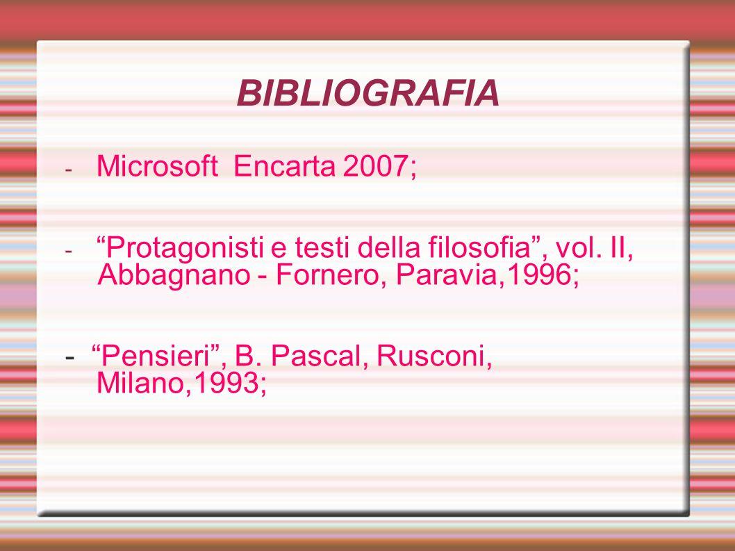 BIBLIOGRAFIA Microsoft Encarta 2007;