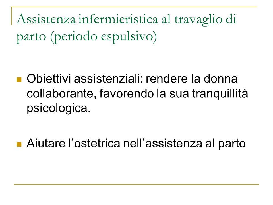 Assistenza infermieristica al travaglio di parto (periodo espulsivo)