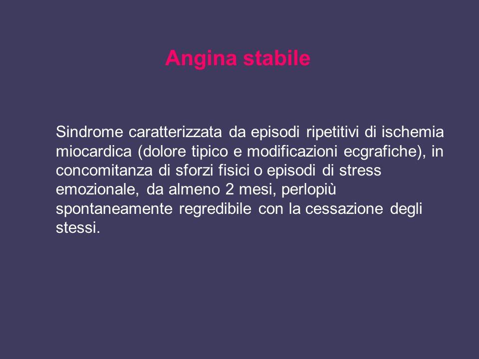 Angina stabile