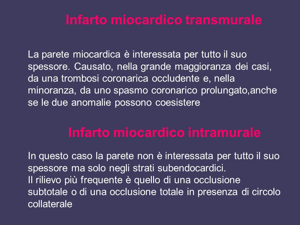 Infarto miocardico intramurale