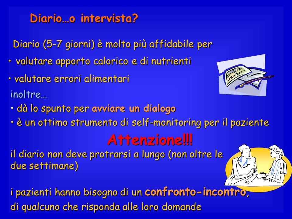 Attenzione!!! Diario…o intervista