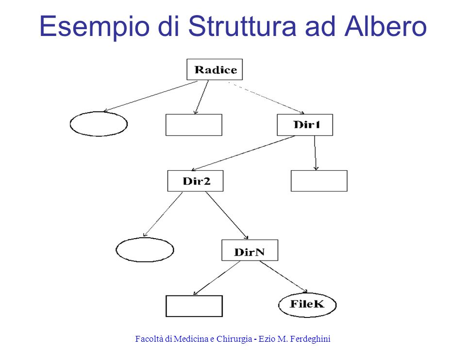 Esempio di Struttura ad Albero